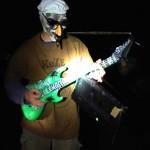 Sorgte für tolle Musik und gute Stimmung - Stumpelrilzchen an der E-(Air)Gitarre.