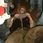 Der Bär ist erlegt. Es war ein Grizzly.