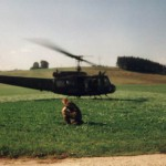 Aufgenommen bei einem geheimen KoZe-Manöver mit unserem eigenen Hubschrauber. (?)