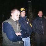 V.l.n.r.: MacGyver, Ruuudi Böller (Postbote), Ronald