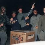 Gruppenfoto vom Überfall auf die Ofterdinger 1999